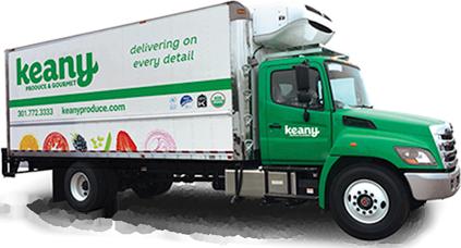 Keany produce truck