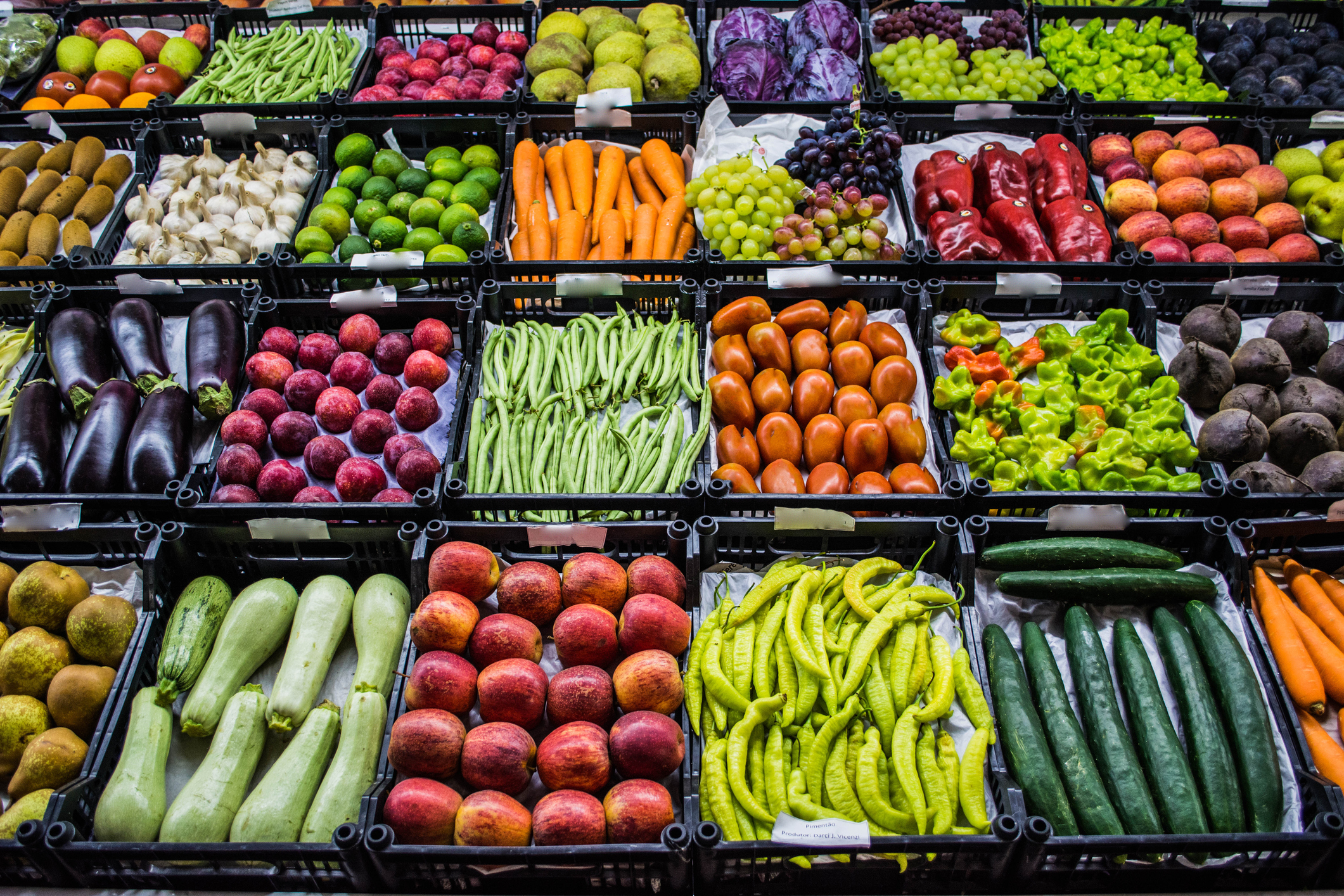 Produce at store